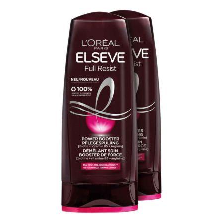 L'Oréal Elseve Full Resist Power Booster Pflegespülung 2 x 200 ml