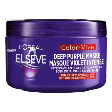 L'Oréal Elseve Color-Vive Deep Purple Maske 200 ml