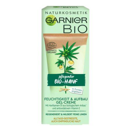 Garnier Bio Gesichtspflege Gel-Creme Hanf 50 ml