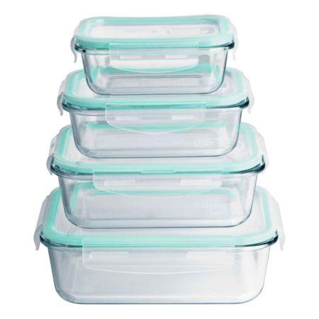 MAXXMEE Glas-Frischhaltedosen 8-teilig
