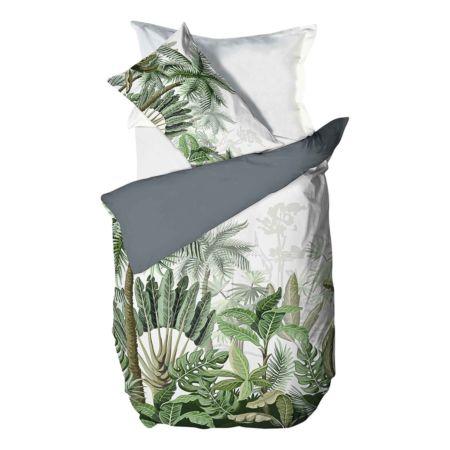 Bettwäsche mit Pflanzen