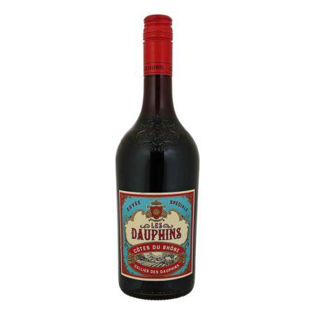 Les Dauphins Côtes du Rhône 75 cl