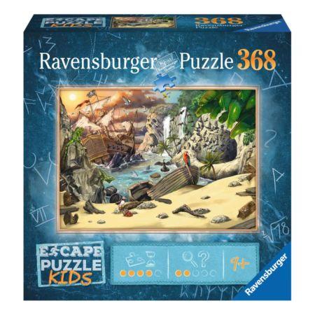 Ravensburger EXIT Puzzle KIDS Das Piratenabenteuer 368-teilig