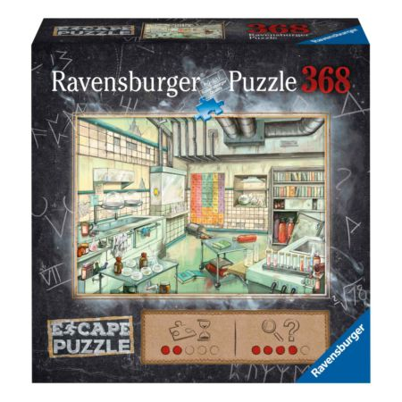 Ravensburger EXIT Puzzle KIDS Im Labor 368-teilig