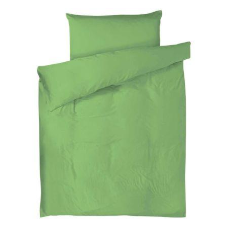 Bettwäsche Satin uni grün