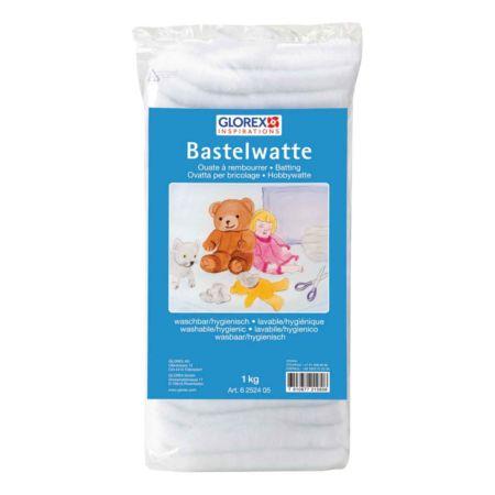 Glorex Bastelwatte weiss 1 kg