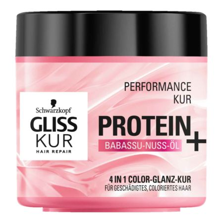 Gliss Kur Performance Kur Protein + Babassu-Nuss-Öl 400 ml