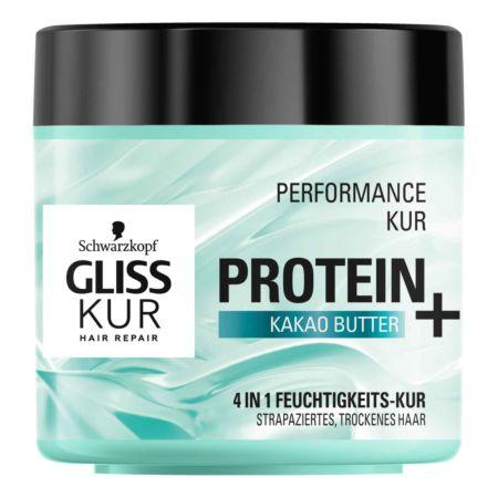 Gliss Kur Performance Kur Protein + Kakao Butter 400 ml