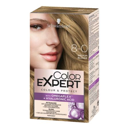 Schwarzkopf Color Expert Intensiv-Pflege Color-Creme 8-0 Mittelblond