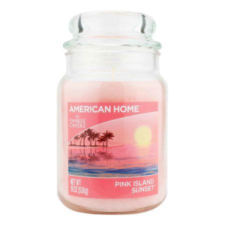 YANKEE CANDLE American Way Jumbokerze Pink Island Sunset 538 g