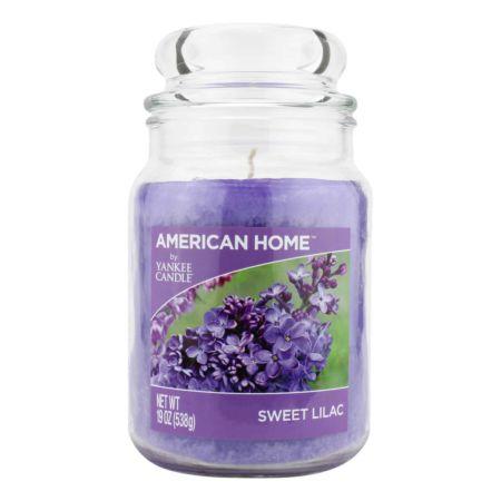 YANKEE CANDLE American Way Jumbkerze Sweet Lilac, 538 g