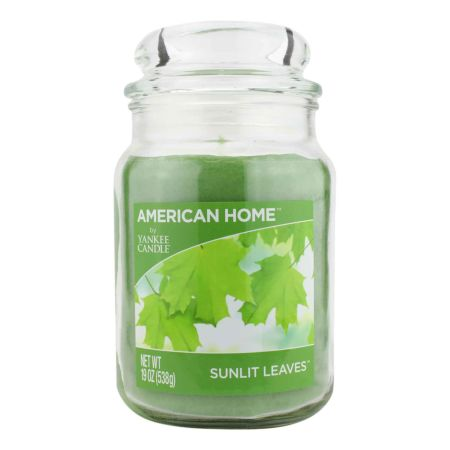 YANKEE CANDLE American Way Jumbokerze Sunlit Leaves 538 g