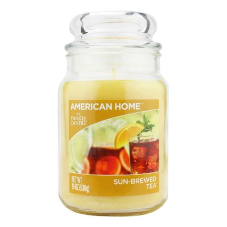 YANKEE CANDLE American Way Jumbokerze Sun Brewed Tea 538 g