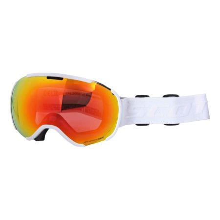 Scott Goggle Faze II red chrom visor