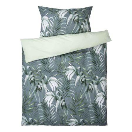 Bettwäsche mit grossen Blättermotiven