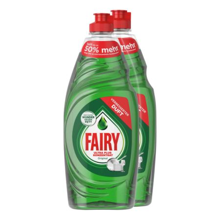 Fairy Original Spülmittel 2 x 625 ml