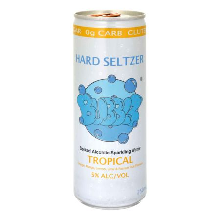 Hard Seltzer Bubblz - Tropical 24 x 25 cl