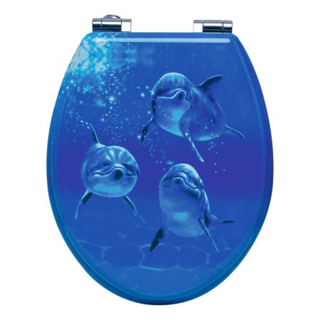 WC-Sitz Delphin mit Absenkautomatik