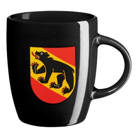 Kaffeetasse mit Bern Fahne