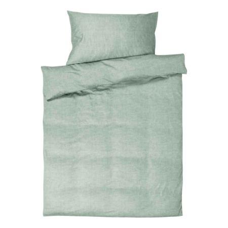 Bettwäsche Leinenoptik mint