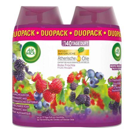 Air Wick Pure Automatisches Duftspray Freshmatic Max Nachfüller Rote Früchte 2 x 250 ml