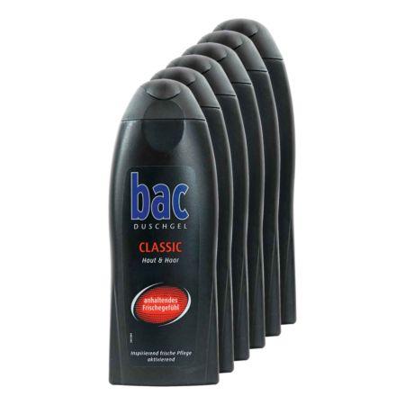 Bac Duschgel Classig Haut & Haar 6 x 250 ml