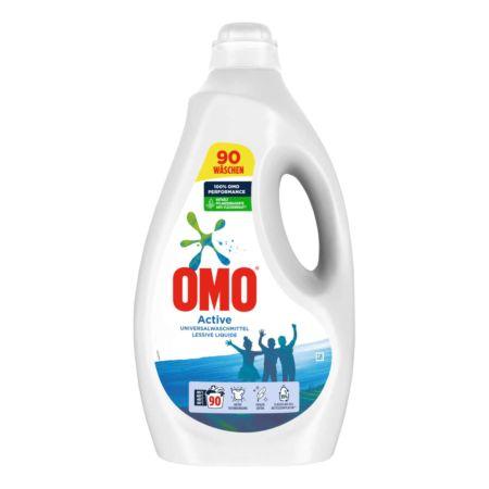 Omo Flüssigwaschmittel Active 90 Wäschen