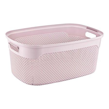 Wäschekorb rosa 30 l