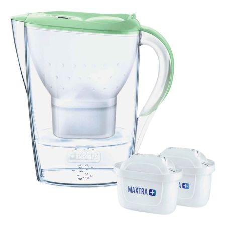 Brita Marella Wasserfilterkanne inkl. 2 Wasserfilter grün