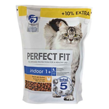 Perfect Fit Trockenfutter für Katzen Indoor 1+ Huhn 825 g
