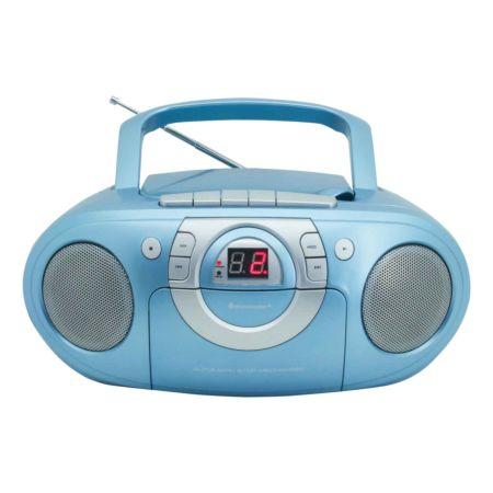 SOUNDMASTER Radio-Kassettenspieler mit CD-Spieler SCD5100BL