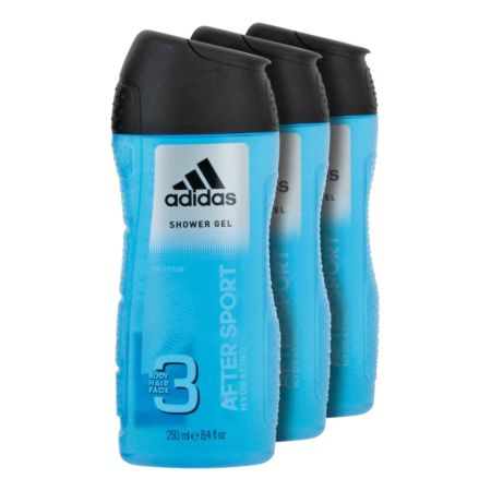 Adidas Duschgel 3 in 1 After Sport 3 x 250 ml