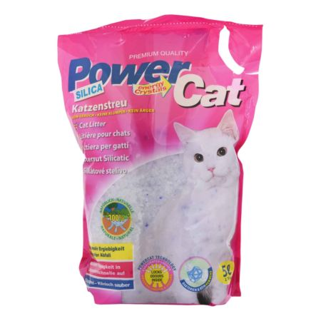 Power Cat Silica Katzenstreu 5 l