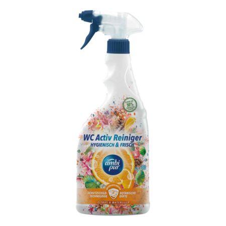 ambi pur WC Activ Reiniger Zitrus & Wasserlilie 750 ml