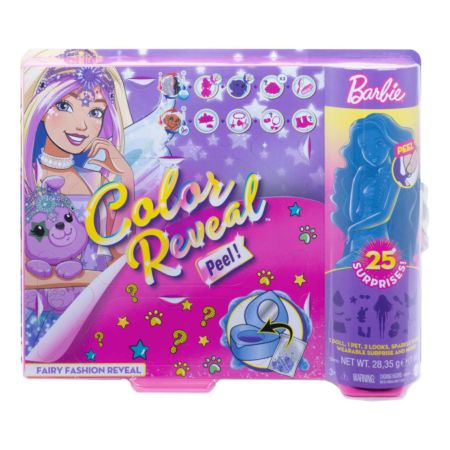 Barbie Color Reveal Puppe Fashion Fee