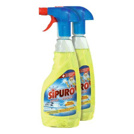 Sipuro Küche Reinigungsspray 2 x 500 ml