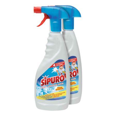 Sipuro Bad Reinigungsspray 2 x 500 ml