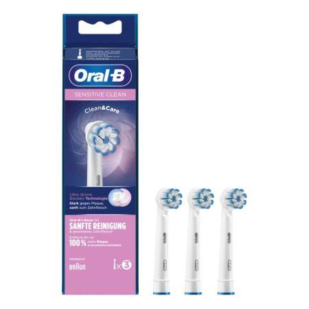 Oral-B Sensitive Clean Aufsteckbürsten, 3 Stück