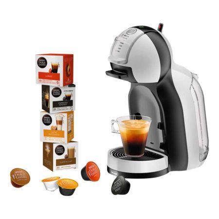 Delonghi Dolce Gusto MiniMe EDG305 Starter Set inkl. 4 Kaffeekapselpackungen