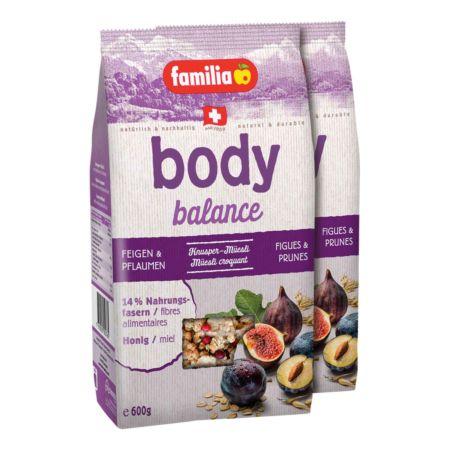 Familia Body Balance Feige & Pflaume 2 x 600 g