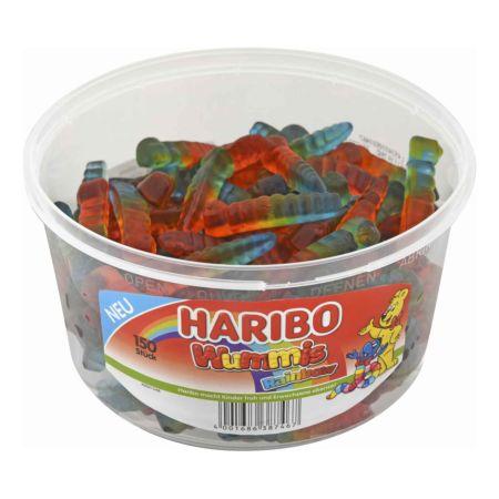 Haribo Wummis Rainbow 150 Stück 1.2 kg
