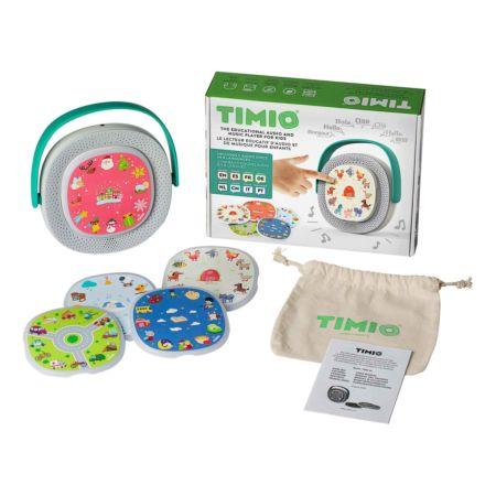Timio Audioplayer mit 5 Discs