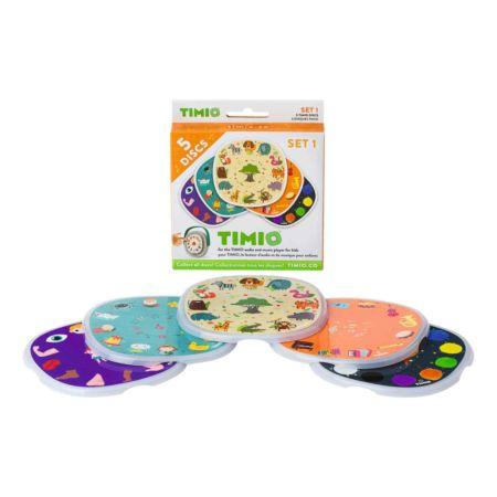 Timio Discs Set 1 Tiere, Instrumente, Farben, Körperteile, Kinderreime