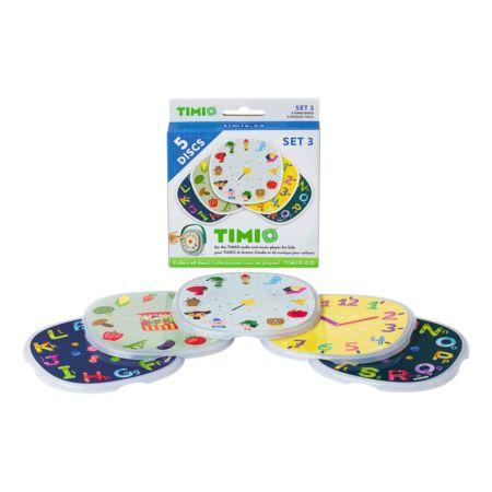 Timio Discs Set 3 Gemüse, Zeit, Alphabet, Märchen