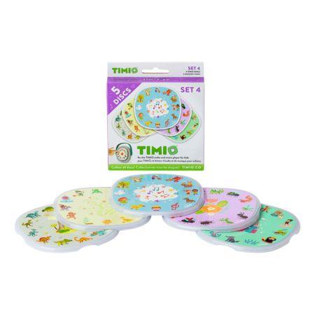 Timio Discs Set 4 Dinos, Käfer & Insekten, Märchen, Kinderreime