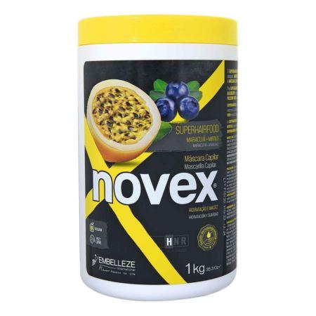Novex Haarmaske SuperFood Passion Fruit & Blueberry  1 kg