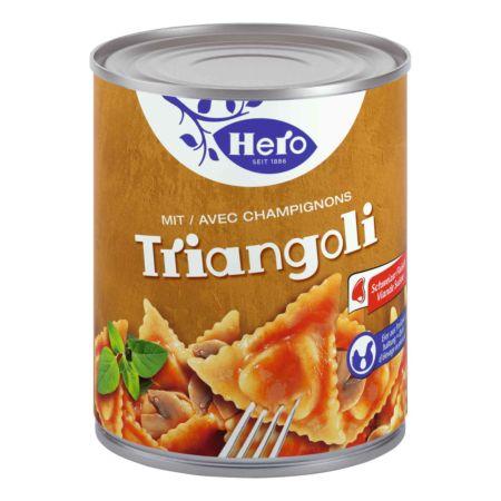 Hero Triangoli mit Champignons 870 g