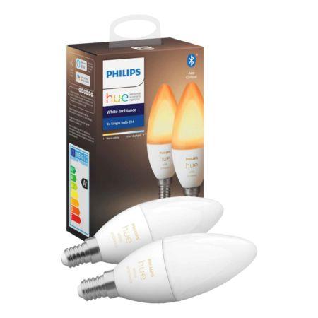 Philips Leuchtmittel Hue White Ambiance 40 W 2er-Set