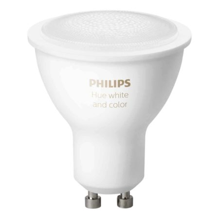 PHILIPS Hue White & Color Ambiance GU10 2er Pack