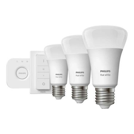 PHILIPS Hue White LED 3 x 9.5 W Set inkl. Batterie